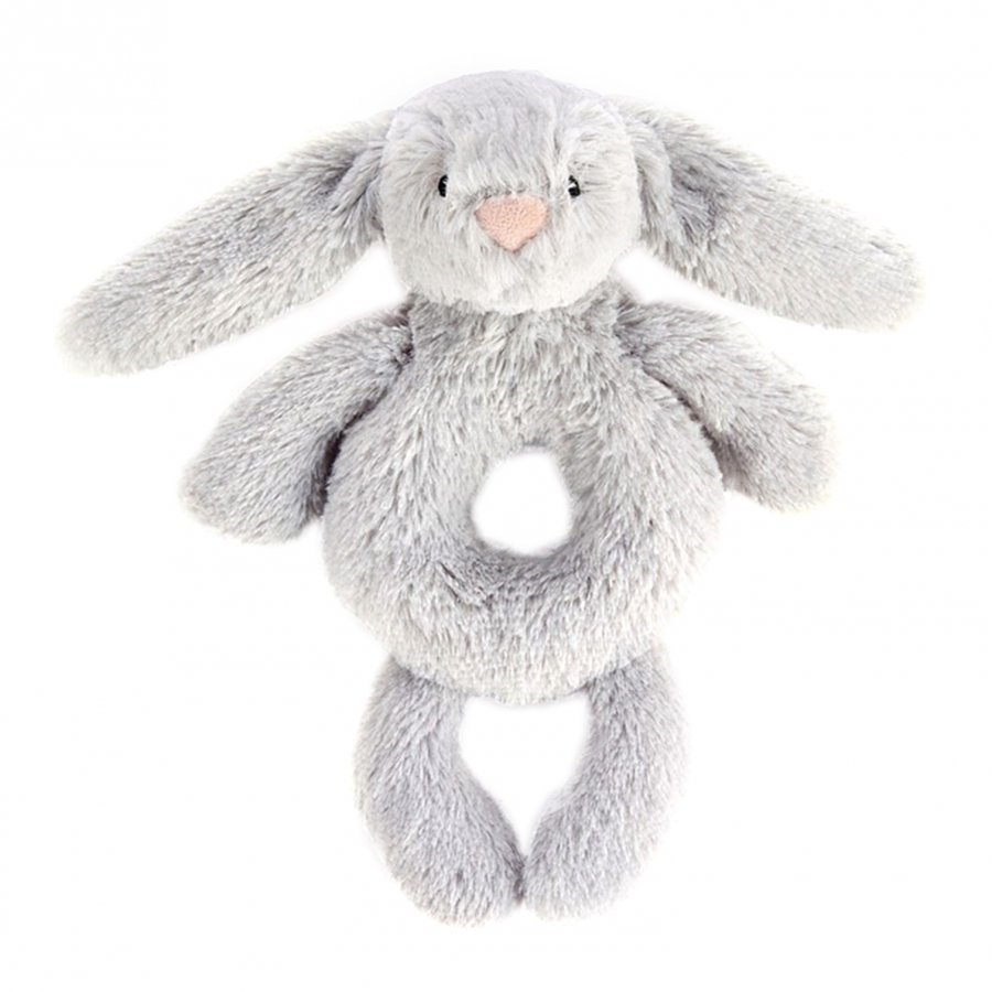 Jellycat Bashful Silver Bunny Grabber Aktiviteettilelu