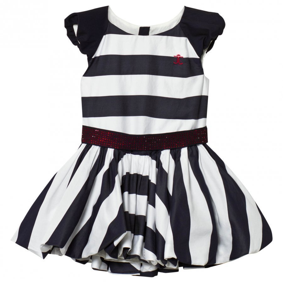 Jessie & James Birthday Dress Navy And White Stripes Juhlamekko