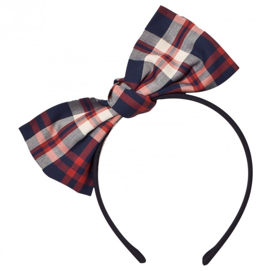 Jessie & James Red Origami Big Bow Headband Hiuspanta