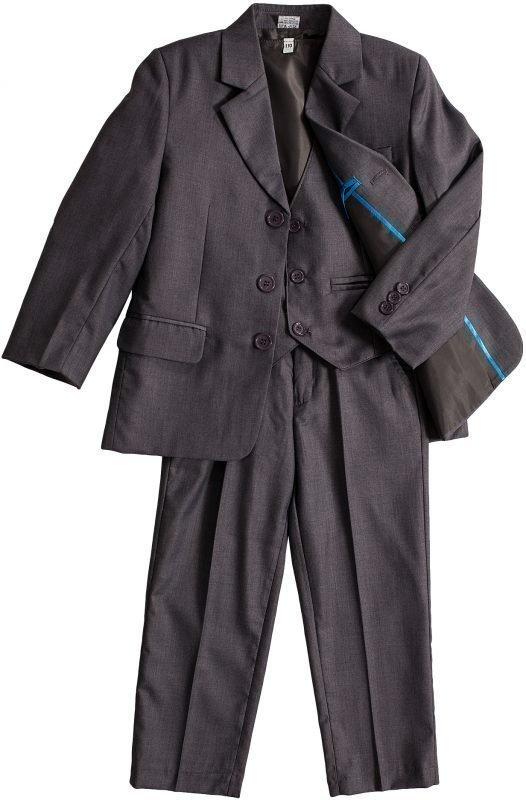 Jocko 3-osainen puku Harmaa