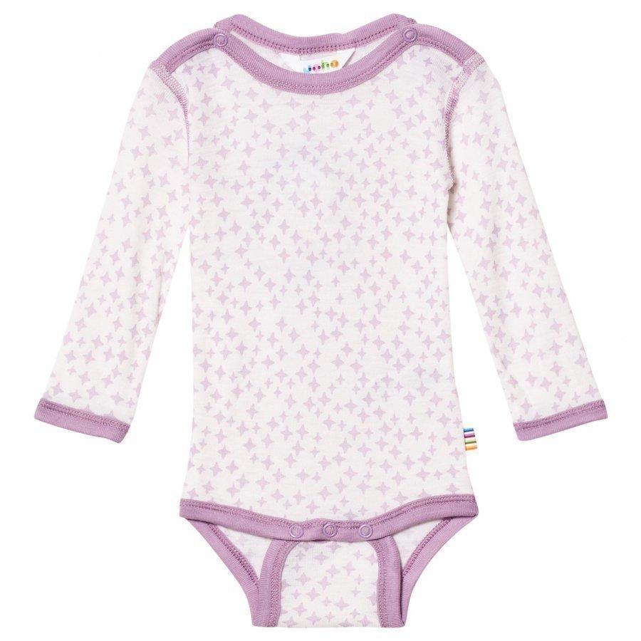 Joha 217481 Crystals Long Sleeve Baby Body Silk Purple Body