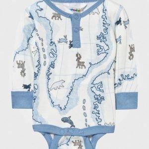 Joha Arctic Zone Baby Body Blue Multi Body
