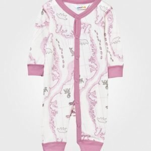 Joha Arctic Zone Baby One-Piece Pink Multi Potkupuku