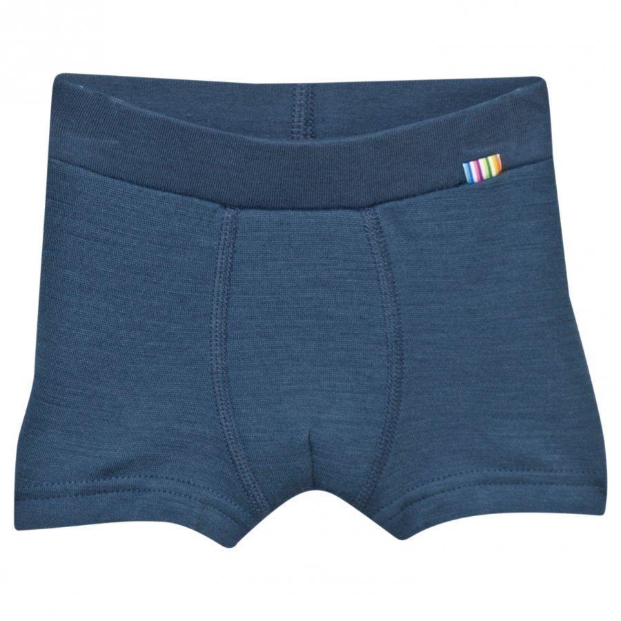 Joha Arctic Zone Boxer Shorts Solid Blue Lämpökerrasto