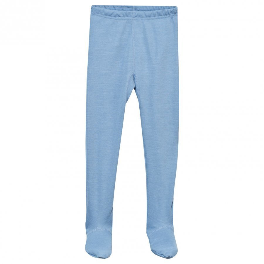 Joha Arctic Zone Footed Leggings Solid Blue Legginsit