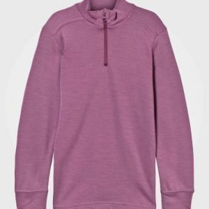 Joha Arctic Zone Mid Layer Top Solid Pink Pitkähihainen T-Paita