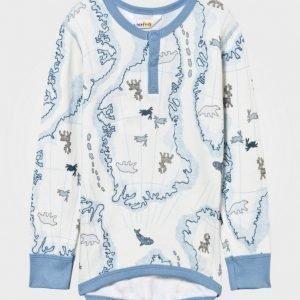 Joha Arctic Zone T-Shirt Blue Multi Pusero