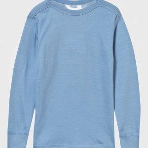 Joha Arctic Zone Tee Solid Blue Pitkähihainen T-Paita