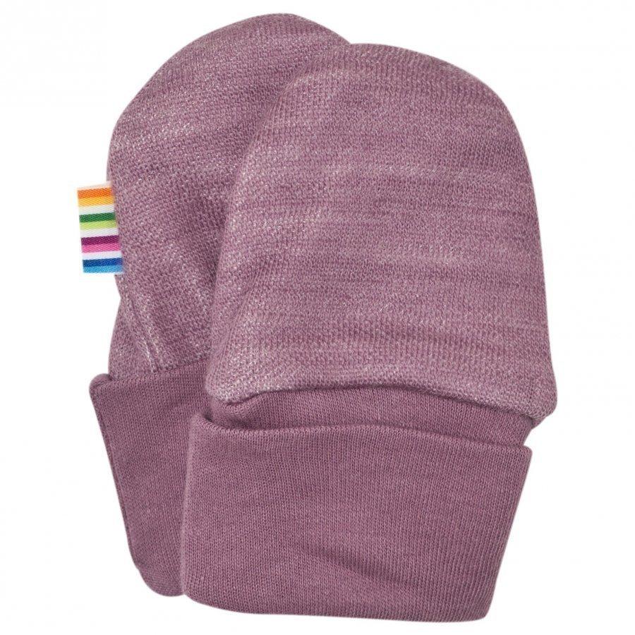 Joha Baby Mittens Purple Villalapaset
