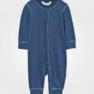 Joha Baby One-Piece Solid Blue Body