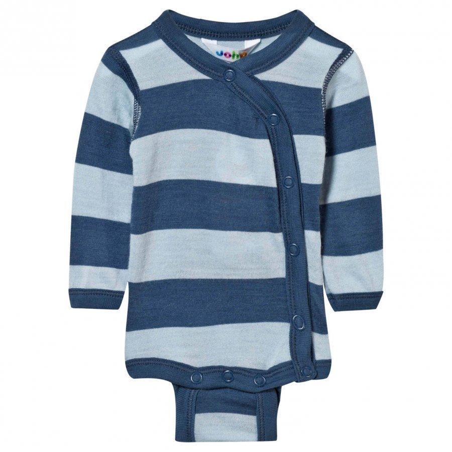 Joha Block Stripe Baby Body Blue Body