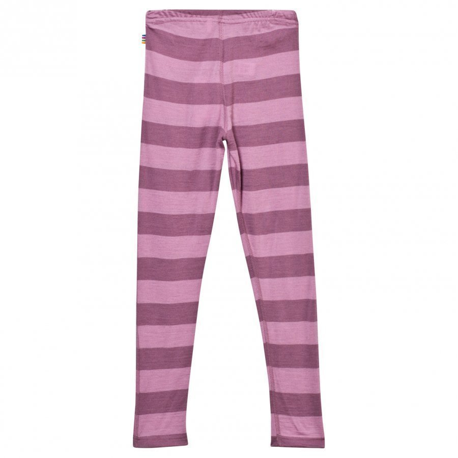 Joha Block Stripe Leggings Pink Legginsit