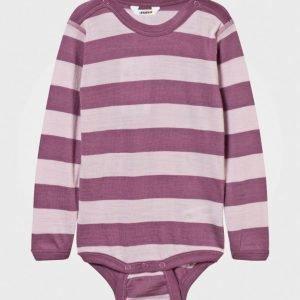 Joha Block Striped Baby Body Pink Body