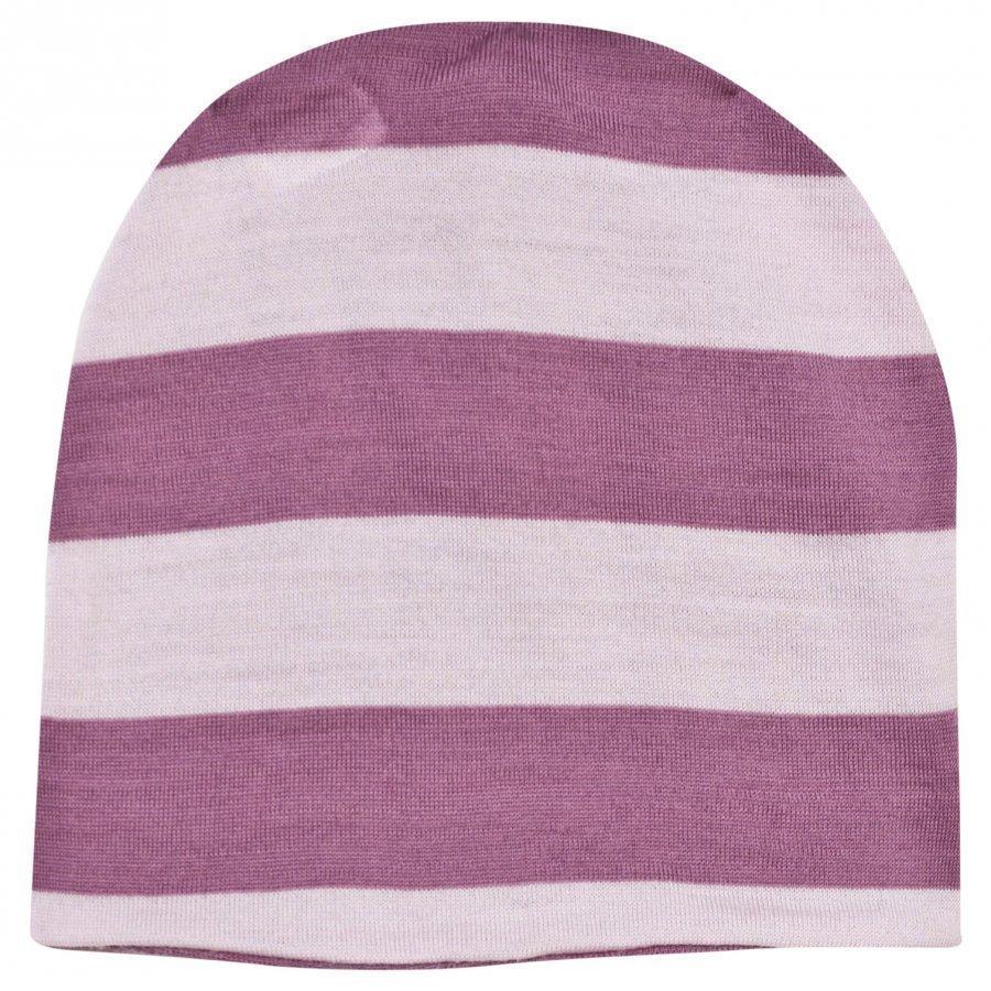 Joha Block Striped Hat Pink Pipo
