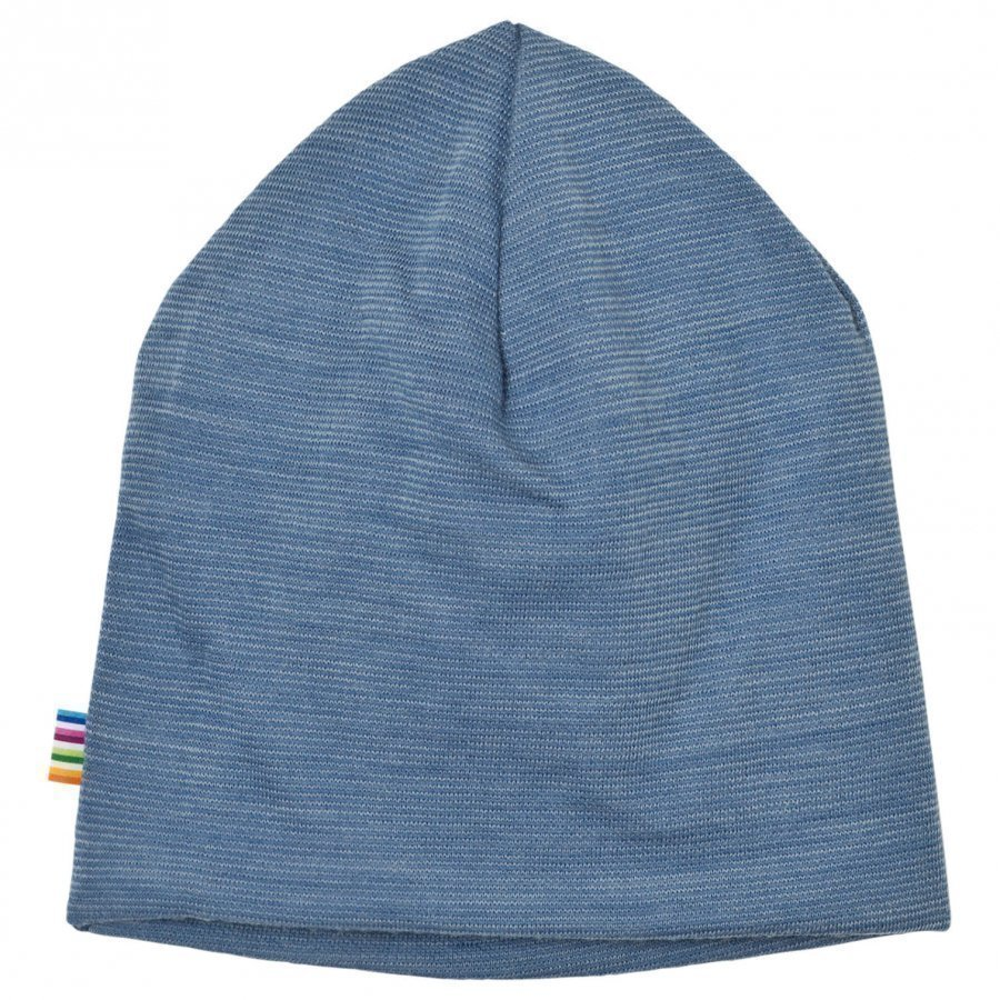 Joha Blue Melange Double Layer Hat Pipo