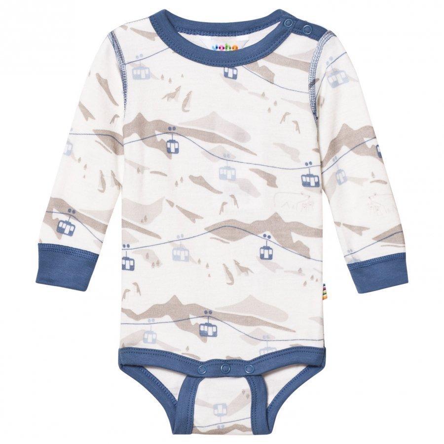Joha Cable Car Long Sleeve Baby Body Blue Body