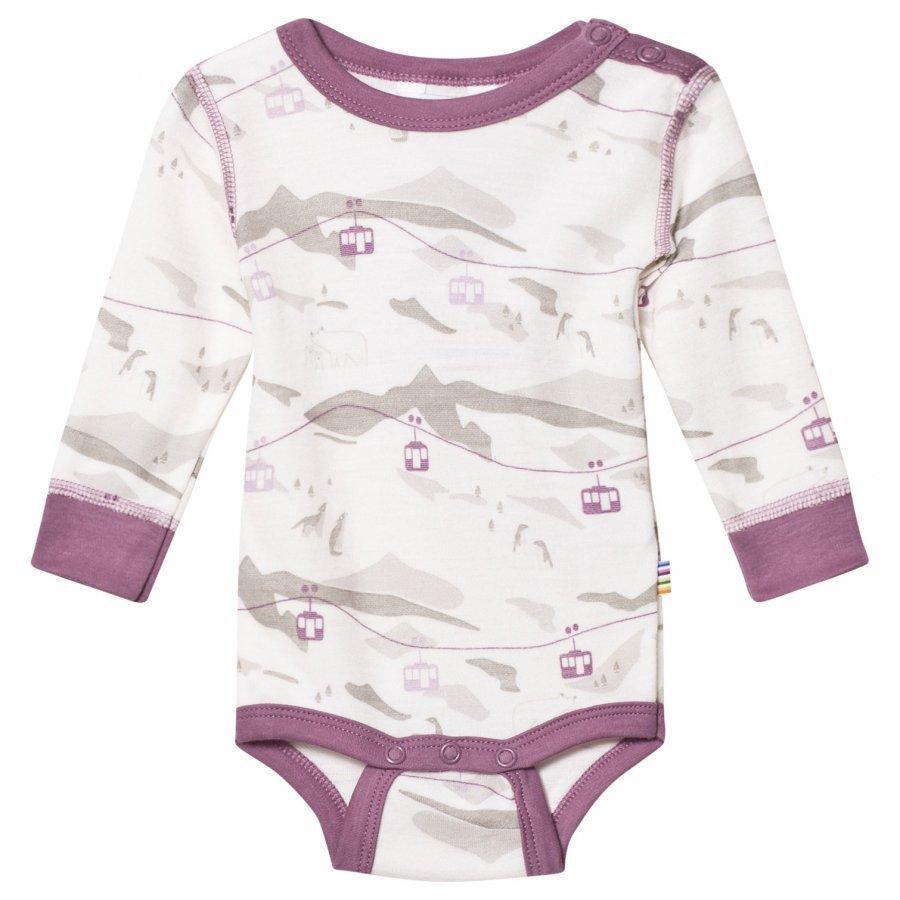 Joha Cable Car Long Sleeve Baby Body Purple Body