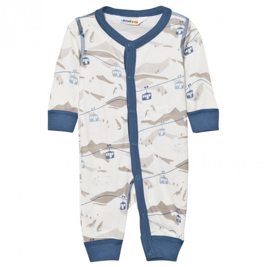 Joha Cable Car One-Piece Blue Potkupuku