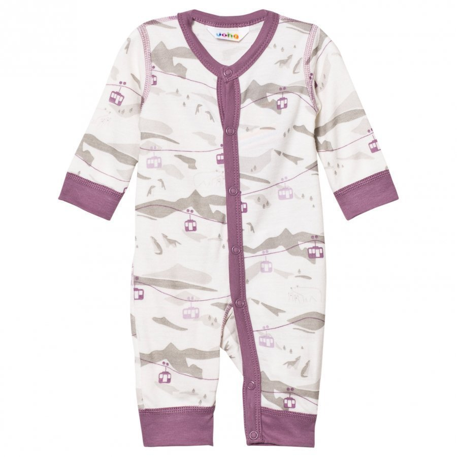 Joha Cable Car One-Piece Purple Potkupuku