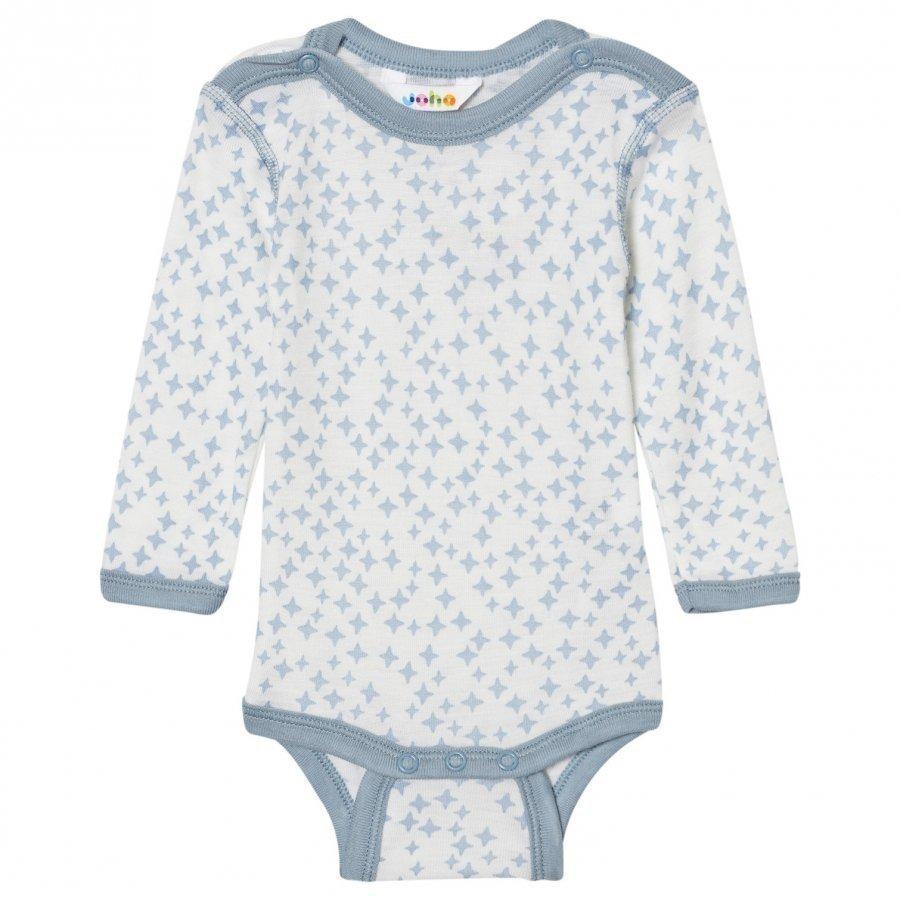 Joha Crystals Long Sleeve Baby Body Silk Blue Body