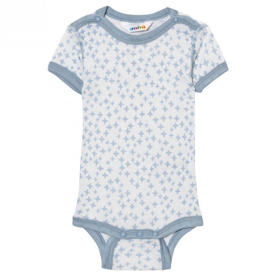 Joha Crystals Short Sleeve Baby Body Silk Blue Body