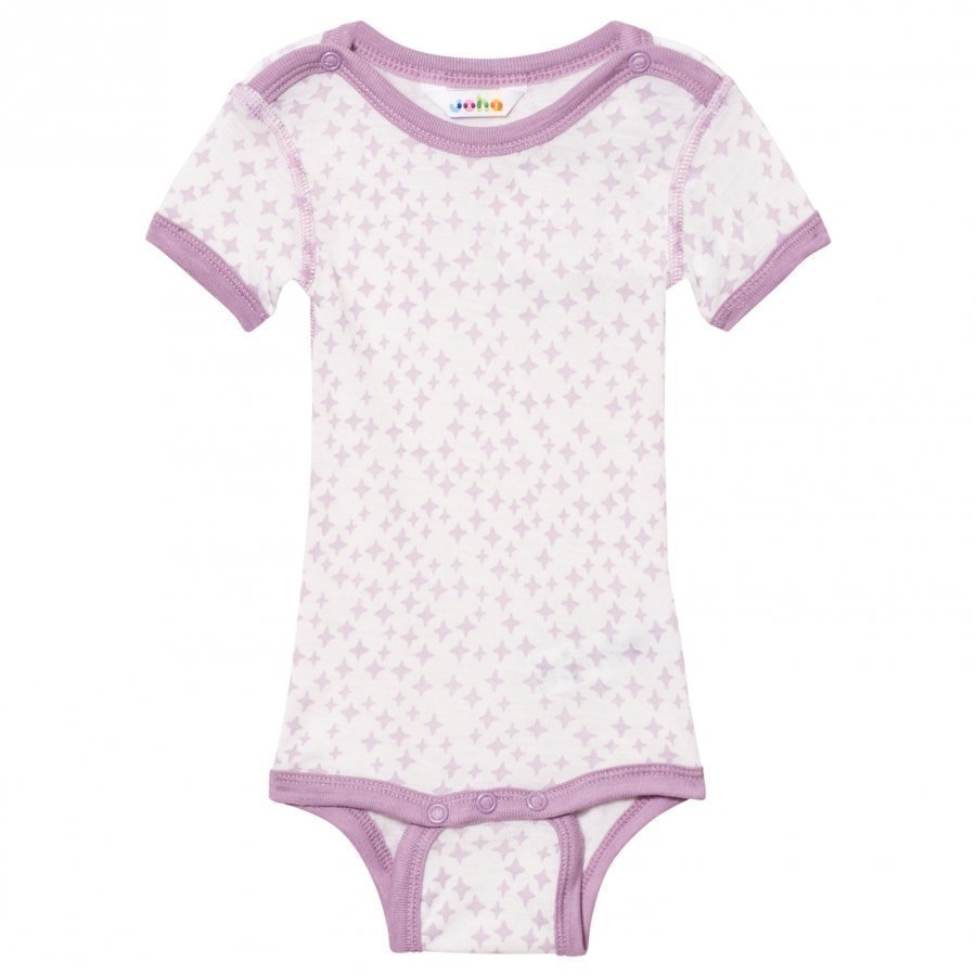 Joha Crystals Short Sleeve Baby Body Silk Purple Body