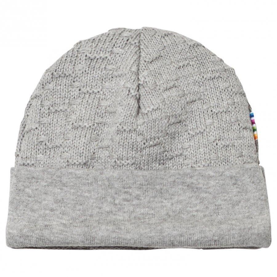 Joha Knit Hat Silver Melange Pipo