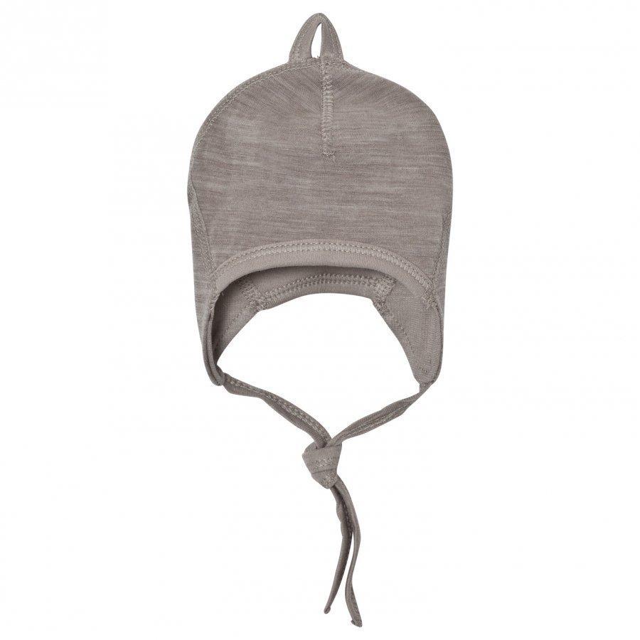 Joha Light Brown Organic Cotton Baby Hat Pipo