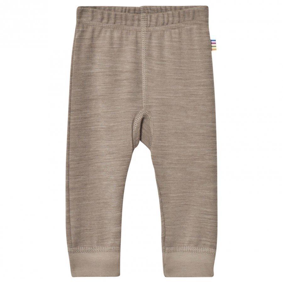 Joha Light Brown Wool And Organic Cotton Blend Leggings Legginsit