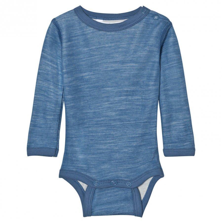 Joha Long Sleeve Baby Body Blue Body
