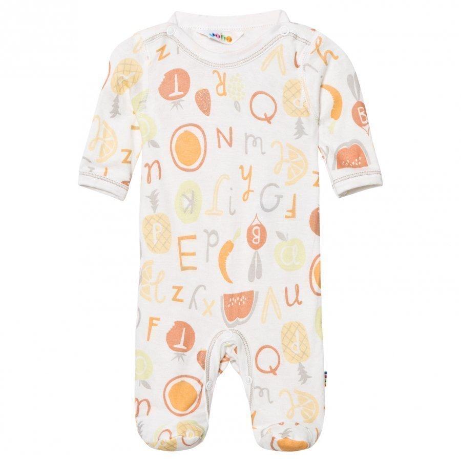 Joha Long Sleeve Footed Baby Body Tutti Frutti Romper Puku
