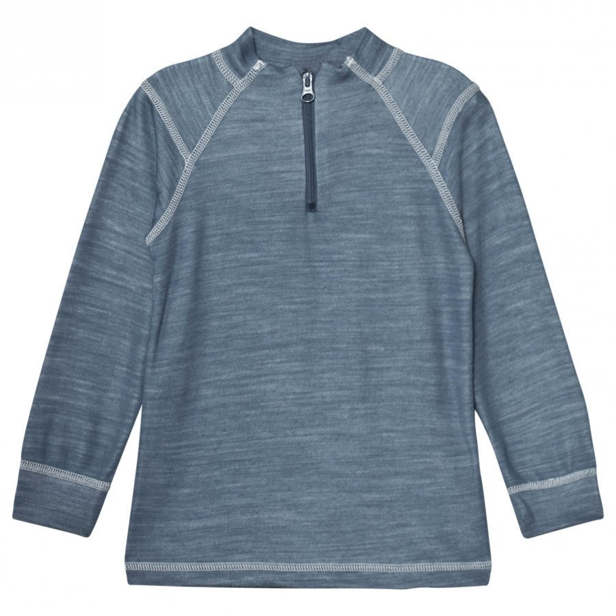 Joha Long Sleeve Thermal Top Blue Kerraston Yläosa