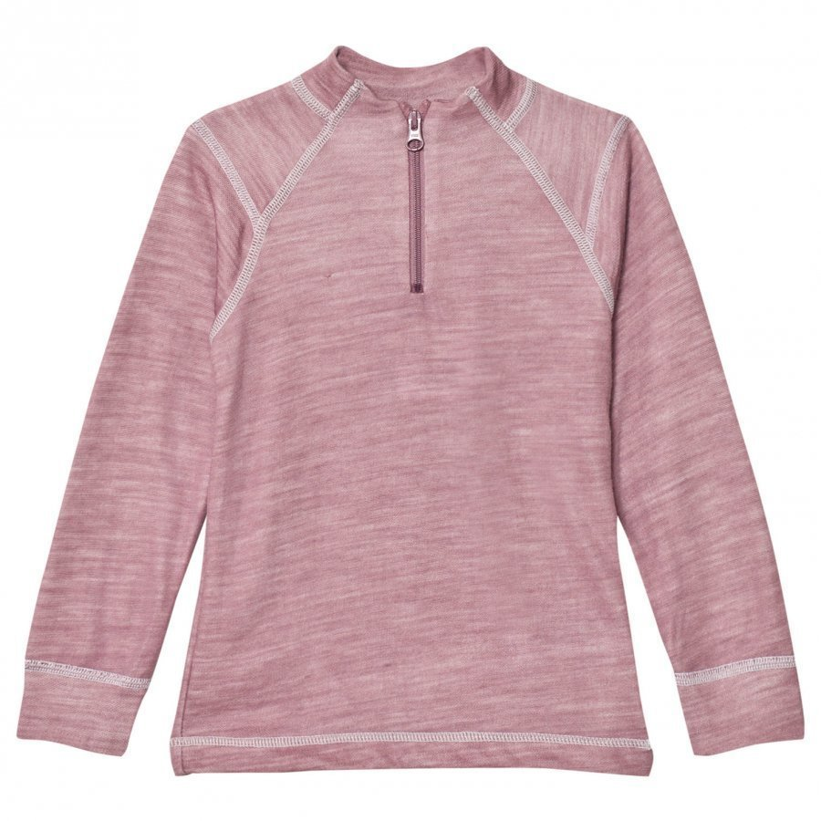 Joha Long Sleeve Thermal Top Purple Kerraston Yläosa
