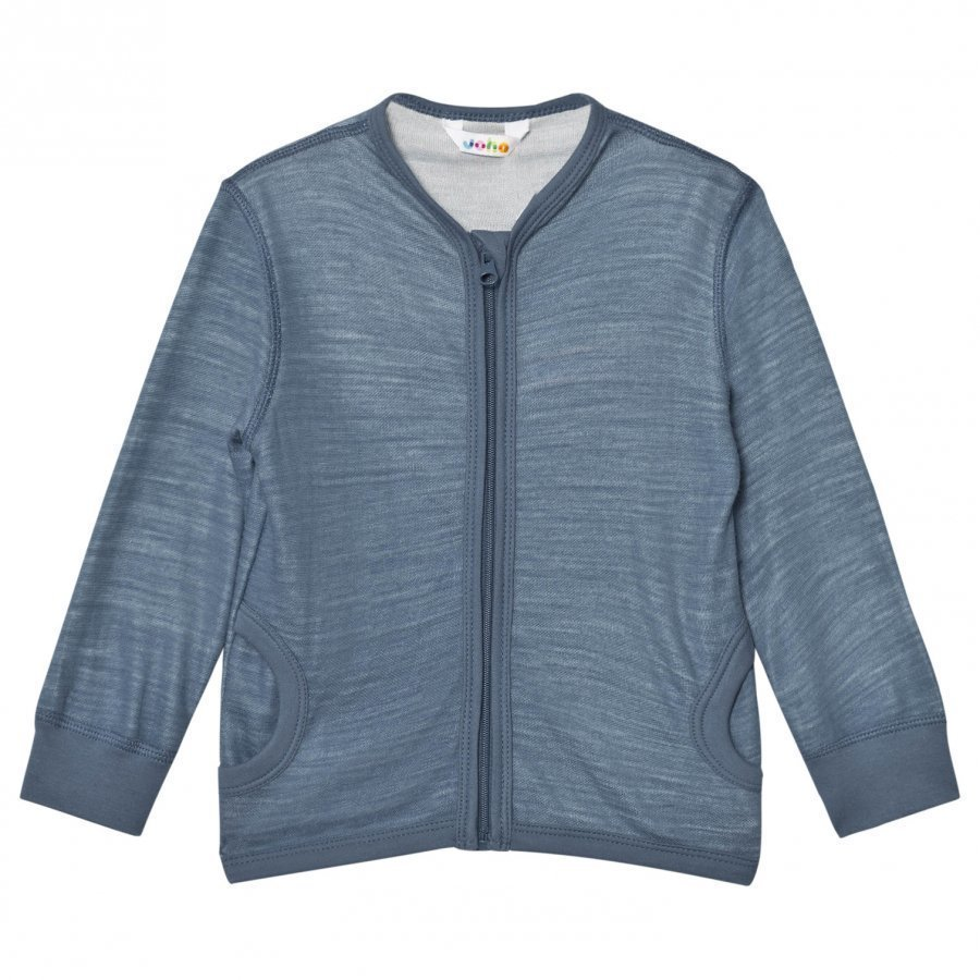 Joha Long Sleeve Thermal Top With Pockets Blue Neuletakki