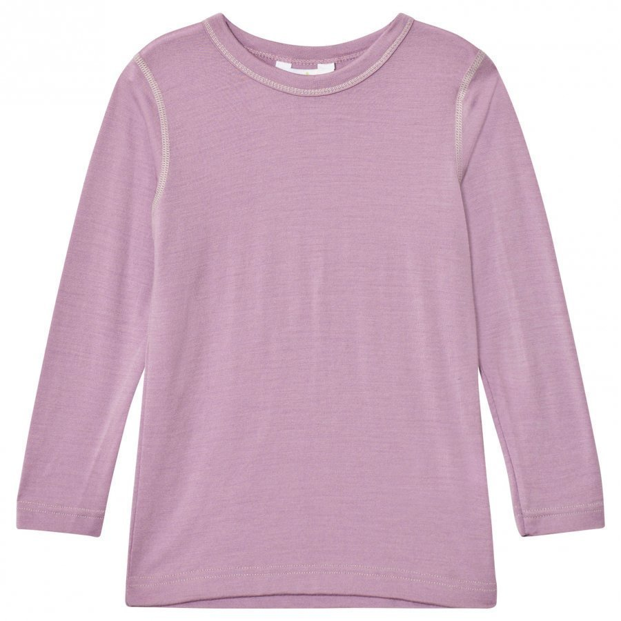 Joha Long Sleeve Top Purple Kerraston Yläosa