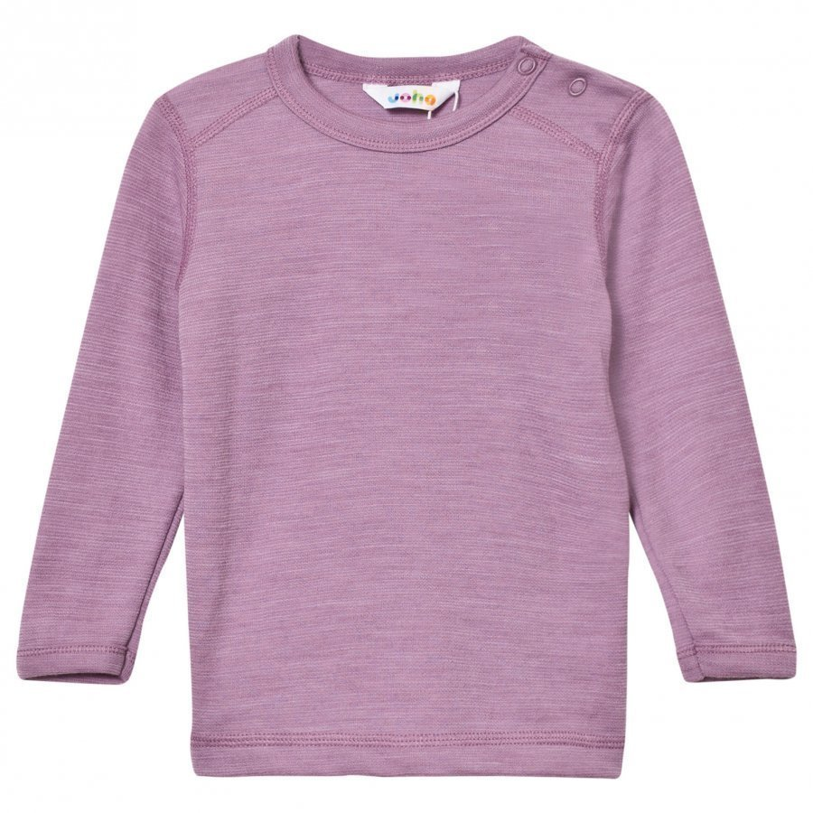 Joha Long Sleeve Top Purple Melange Kerraston Yläosa
