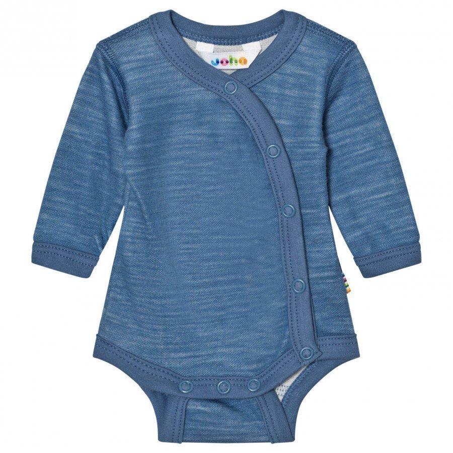 Joha Long Sleeve Wrap Body Blue Body