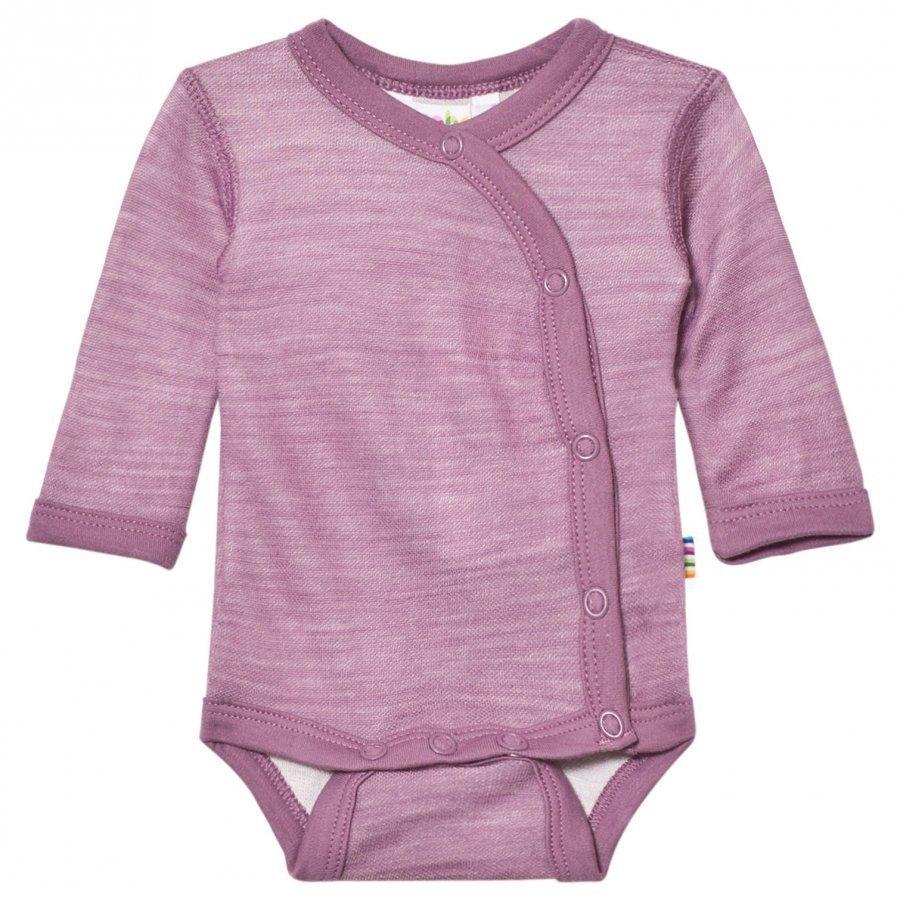 Joha Long Sleeve Wrap Body Purple Body