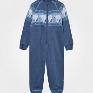 Joha Polar Bear Onesie Blue Body