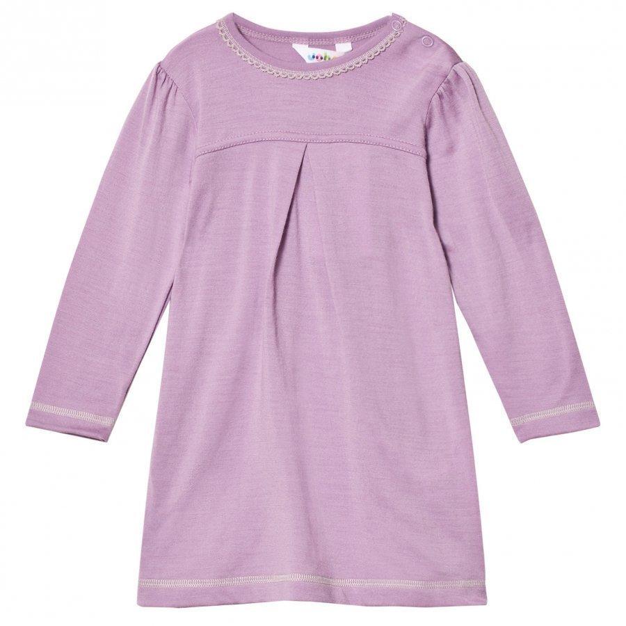 Joha Purple A-Line Dress Mekko