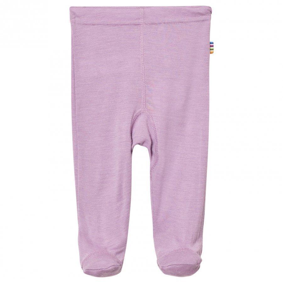 Joha Purple Footed Leggings Silk Legginsit