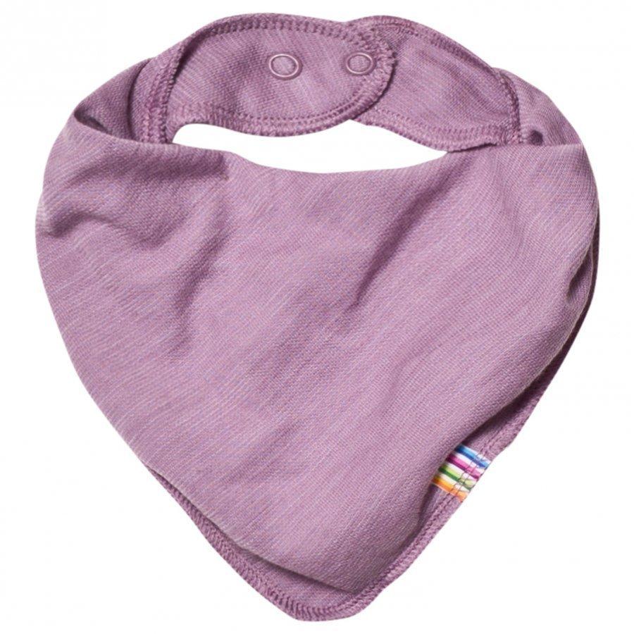 Joha Purple Melange Bib Ruokalappu