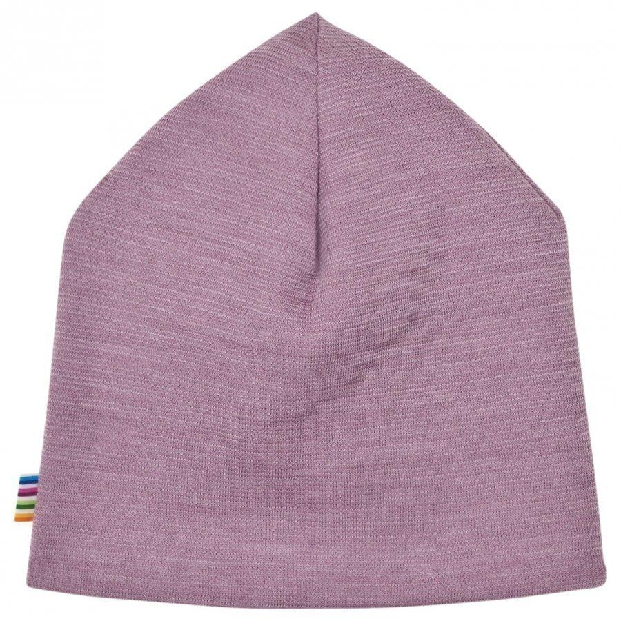 Joha Purple Melange Double Layer Hat Pipo