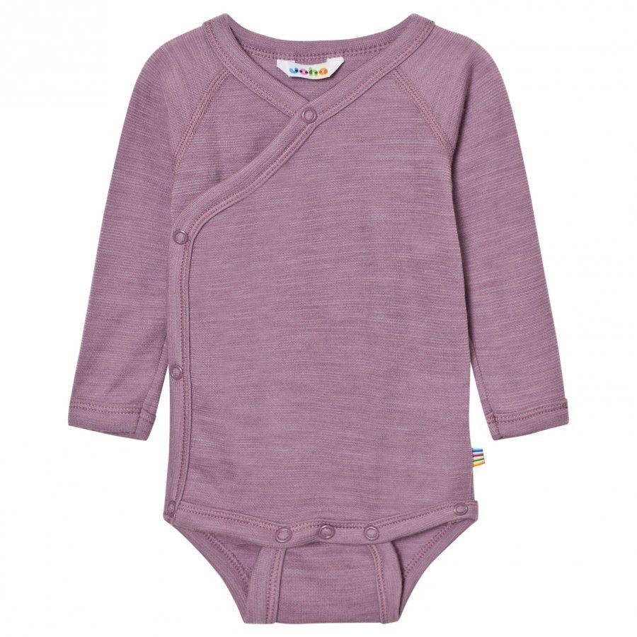 Joha Purple Melange Long Sleeve Wrap Body