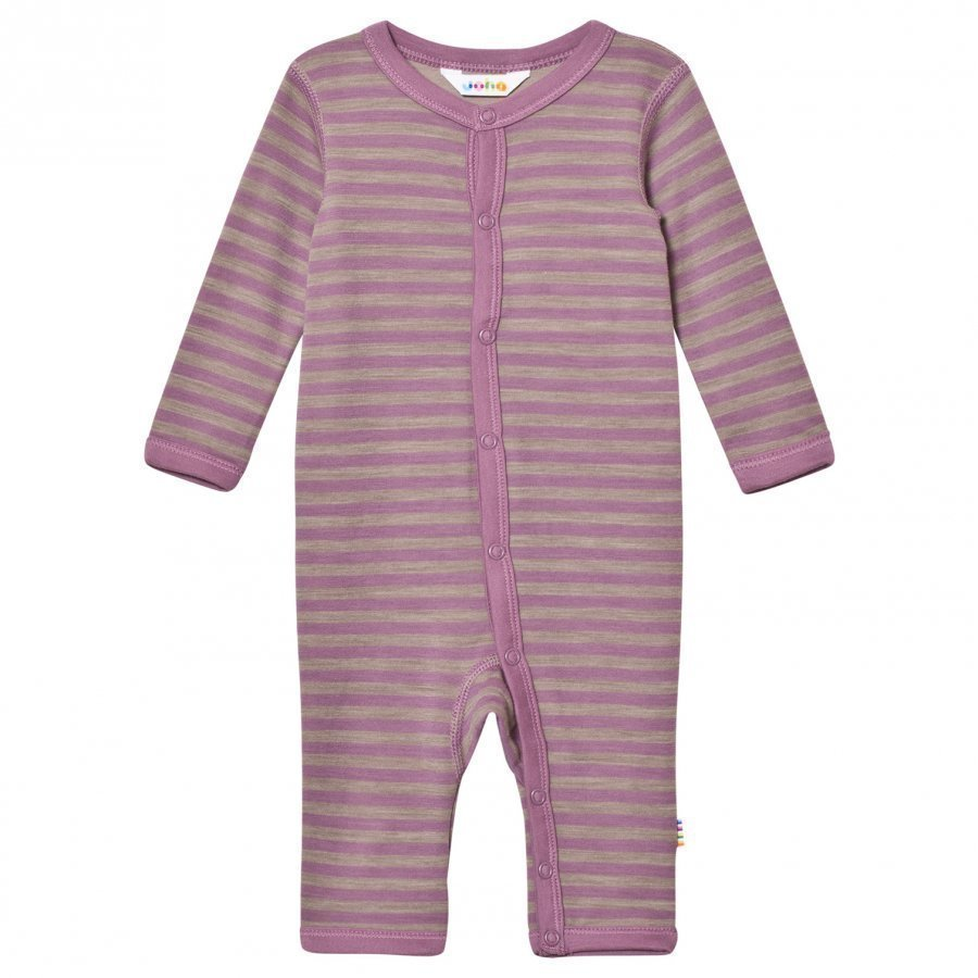 Joha Purple Striped One-Piece Potkupuku