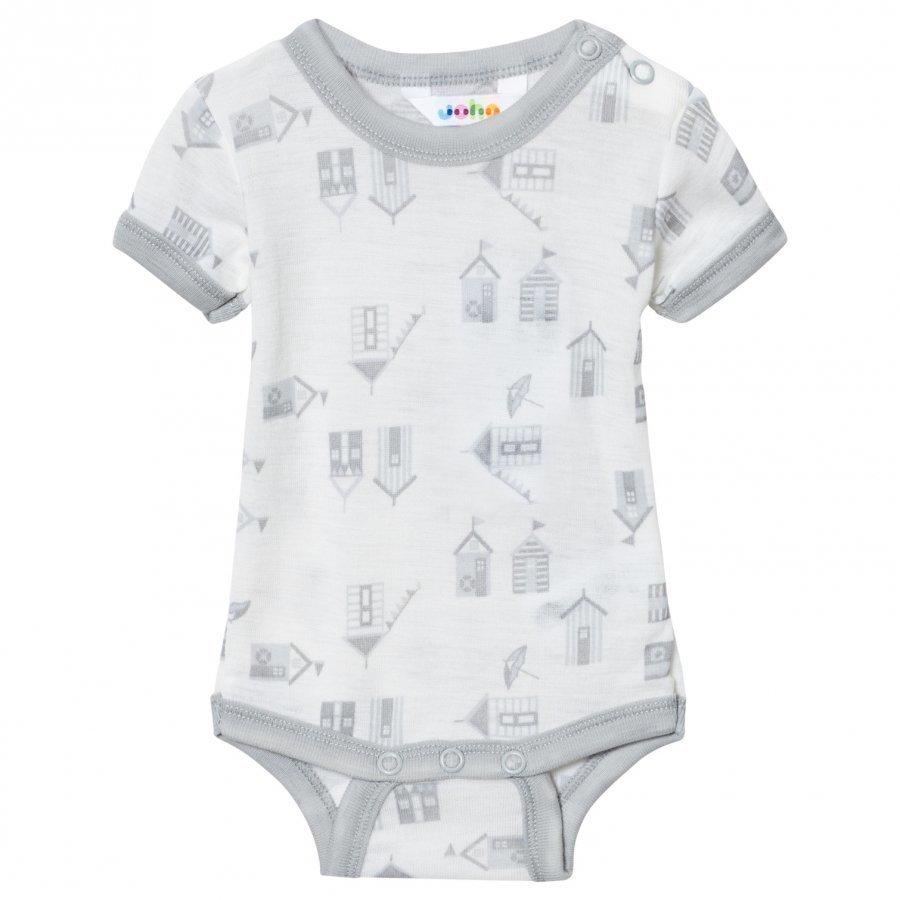 Joha Short Sleeve Baby Body Beach House Print Body