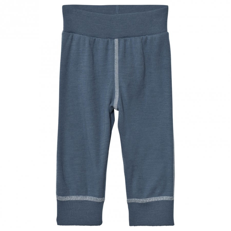 Joha Soft Wool Sweatpants Blue Kerraston Alaosa