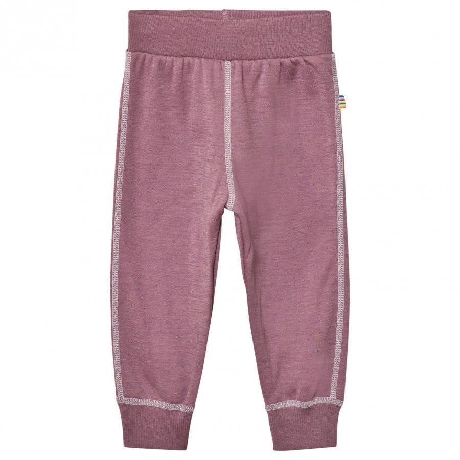 Joha Soft Wool Sweatpants Purple Kerraston Alaosa