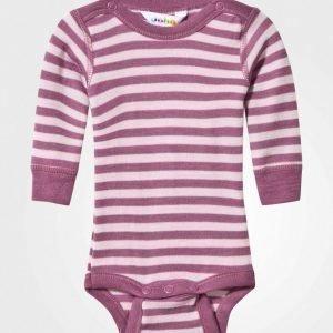 Joha Striped Baby Body Pink Body