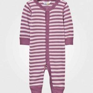 Joha Striped Baby One-Piece Pink Body